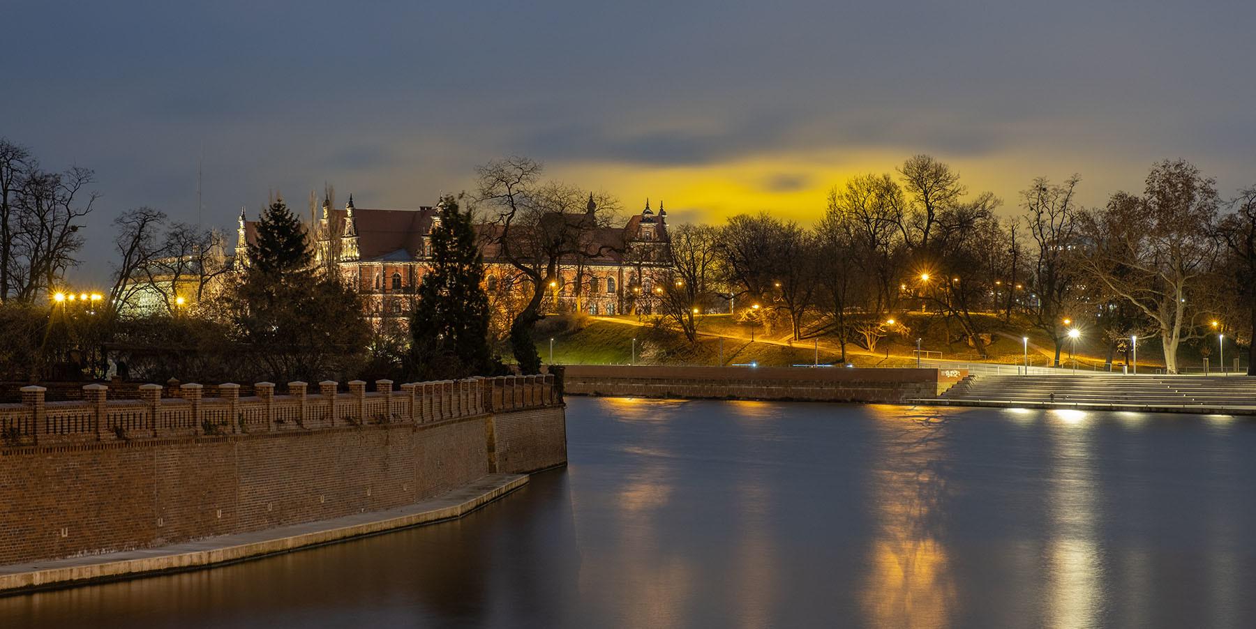 Odra we Wrocławiu