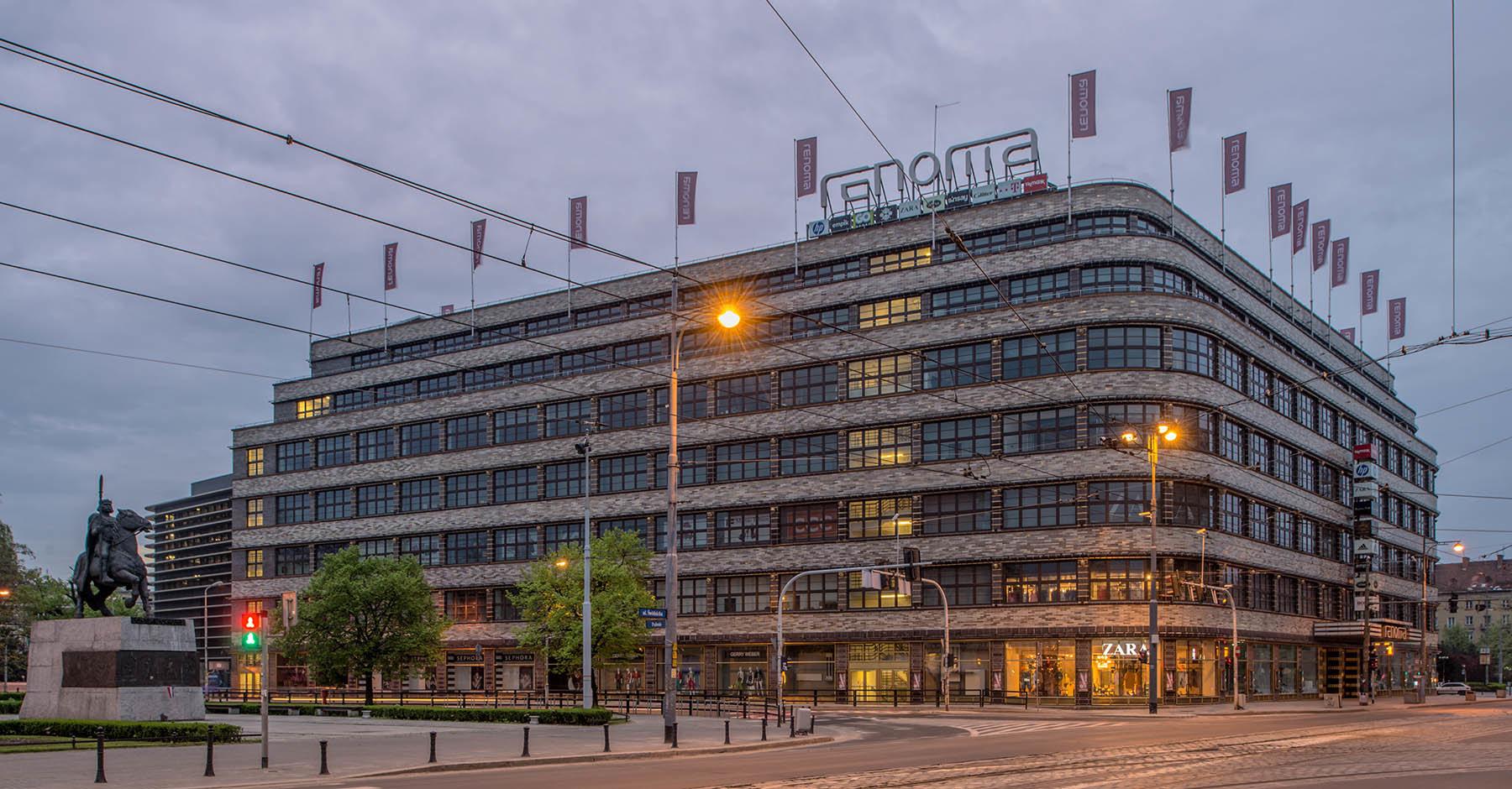 Odremontowany Dom Handlowy Renoma we Wrocławiu