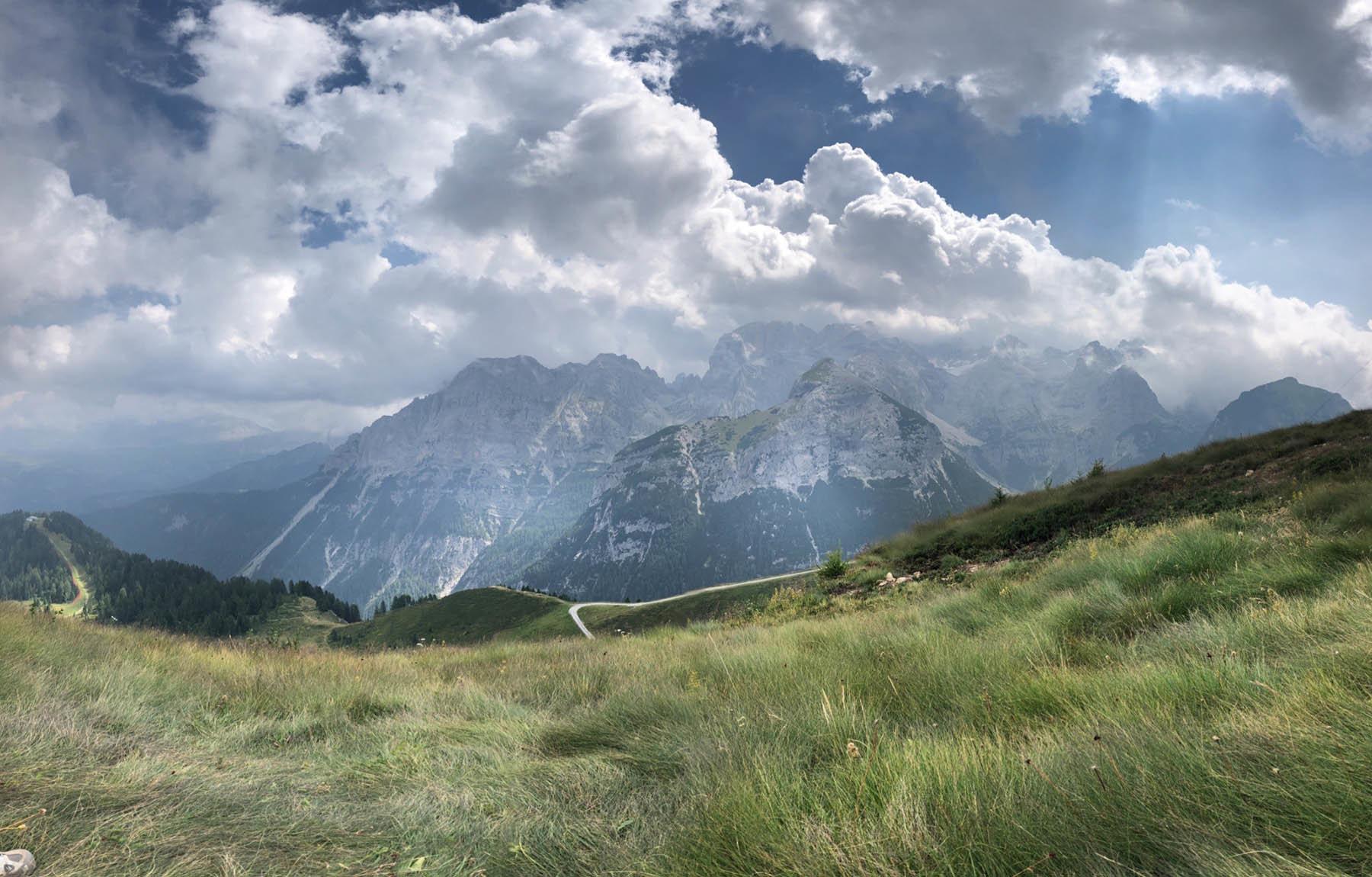 Dolomity w okolicach Madonny di Campiglio (iPhone8)