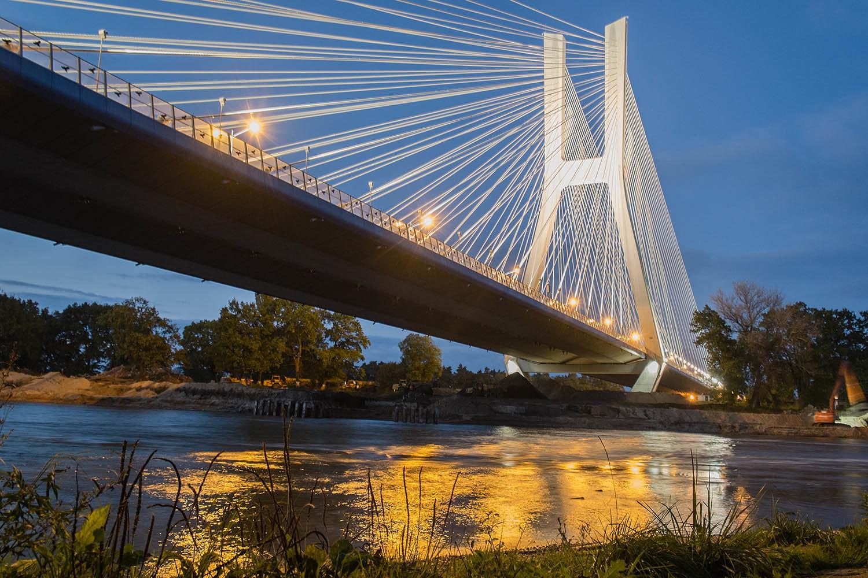 Most Rędziński na Autostradowej Obwodnicy Wrocławia.